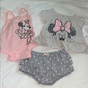 NWT Disney baby 3 piece outfit